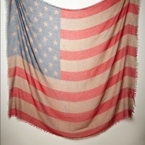Free People Women's Tattered Flag Scarf